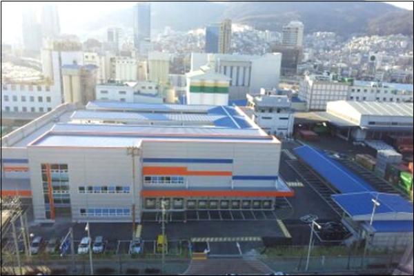 프레시웨이 부산 냉동/냉장 물류센타 신축공사